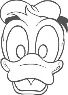 minnie mousePrintable Masks to Color | Mickey Mouse Mask Template ...