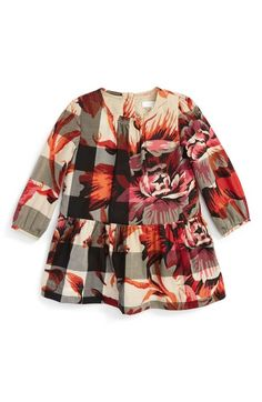 6ccdf84bd5 Burberry Mini Taisa Check Dress (Baby Girls) available at  Nordstrom Little  Girl Fashion