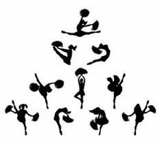Free download Cheer Toe Touch Clipart for your creation