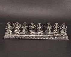 Silver Lamp, Silver Trays, Gold Bangles, Jewelery, Silver Jewelry, Silver Jews, Silver Pooja Items, India Home Decor, Pooja Room Design