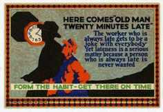 Vintage Motivational Cards from the Early 20th Century