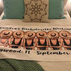 Bachelorette Beach Towel Bachelorette Party Gift Bride | Etsy Beach Bachelorette, Bachelorette Party Gifts, Hen Party Presents, Custom Beach Towels, Bride Gifts, Besties, Prints, Etsy, Hen Party Gifts