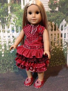 American Girl Doll Clothes  Handmade 2 by Sweetlittlethingsbys, $26.00