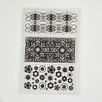 Flower lace block background Clear Transparent Stamp DIY Scrapbooking/Card Making/Christmas Decoration Supplies
