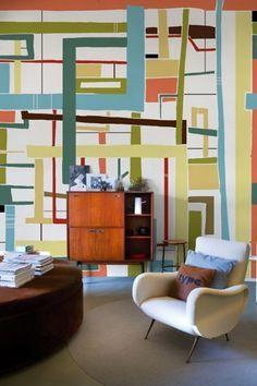 Image result for 60s interior design