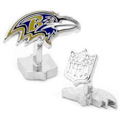Palladium Baltimore Ravens Cufflinks