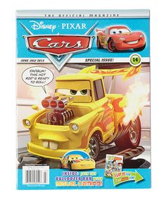 Made For Little Racers, This Magazine Steps Inside The World Of Disney  Pixaru0027s Cars, Part 82