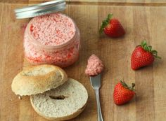 Strawberry Honey Butter. This sounds SO delicious that I think I will go into my kitchen right now and make some up! I will let you guys know how it turned out! MMMMMMM.