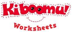 Kiboomu Worksheets...INCREDIBLE SITE!!! free worksheet printables for EVERYTHING!