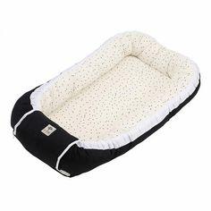 Babynestje BORN Copenhagen zwart | Shop je bij Mini & Momo #babynest #babynestje #cozynest