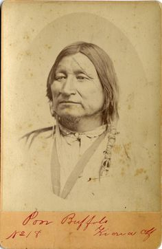 Kiowa chief Poor Buffalo, no date