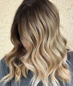 Cutest balayage hair color for medium length haircuts 2017 2018.