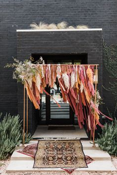 Boho Backdrop, Ceremony Backdrop, Wedding Backdrop Design, Boho Wedding, Dream Wedding, Wedding Table, Bridal Bouquet Fall, Eclectic Wedding, Wedding Background