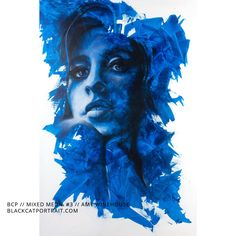Mixed Media on Canvas // 100 x 150 cm