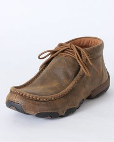 Twisted Boots driving moccasin.  I just bought a pair of these and have been wearing them for the last couple of days.  Some of the most comfortable shoes I have ever worn.