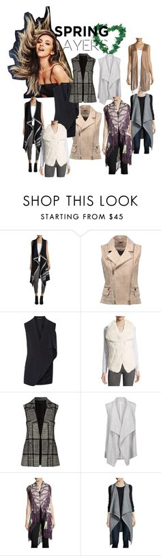 """""""Spring Layers!"""" by lalu-papa ❤ liked on Polyvore featuring Neiman Marcus, Balmain, Theory, Duffy, RAJ, Beyond and philosophy"""