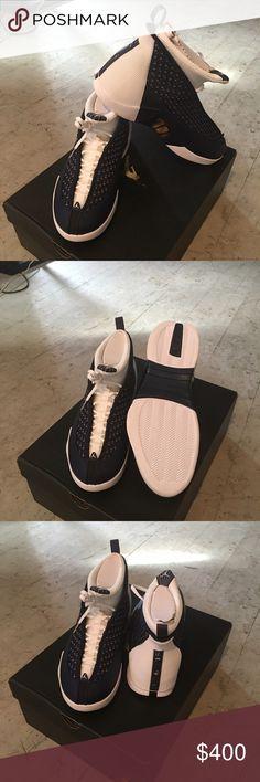 Jordan 15 Obsidian Brand new Jordan 15 Obsidian SZ 11 never worn never tried on never worn Jordan Shoes Athletic Shoes