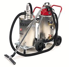 Ermator W2000: 2 Wet Vacuum with Pre-Separator