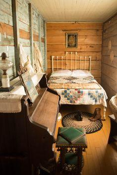 Ketola Bedroom at Old World Wisconsin - Loyd Heath Photography