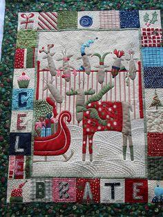 Reindeer by Jessica's Quilting Studio, via Flickr