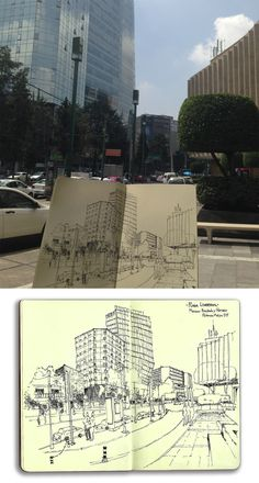 Polanco CDMX / Polanco Mexico City. tinta-ink Gmo.L.15