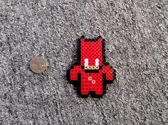 Long Black Fingers : Ghost Rider, Punisher, Daredevil Perler Beads