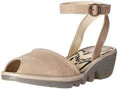 Amazon.com: FLY London Women's POPA604FLY Wedge Pump: Clothing