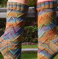 Ravelry: Neptun pattern by Edda Foken Knitting Stitches, Knitting Patterns Free, Knitting Socks, Hand Knitting, Crochet Patterns, Free Pattern, Wool Socks, Crochet Quilt, Crochet Slippers