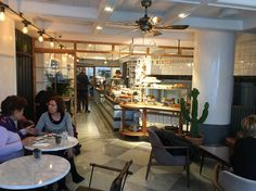 Grandpa Coffee&Eatery | Bebek/Istanbul designed by Zemberek Design #interiordesign #interior #cafedesign #coffee #bakery #bakerydesign #coffeeshop #terrazzofloor #woodcabinets