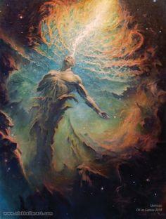 Fantasia, ficção científica e terror nas surreais e sombrias pinturas de Nick Keller