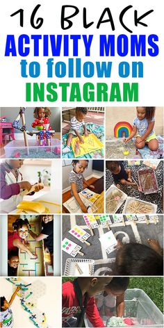 No matter what colour you are, we all know that life with a toddler is HARD!  Check out these 16 imaginative Black moms on Instagram for easy and creative learning activities for toddlers, preschoolers and kindergartners! Parenting Quotes, Parenting Advice, Toddler Learning Activities, Toddlers, Kindergarten, Preschool, Colour, Mom, Check