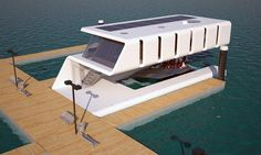 In The Market For A Floating Man-Lair? - This one should do. Here's why we're suddenly into houseboats.