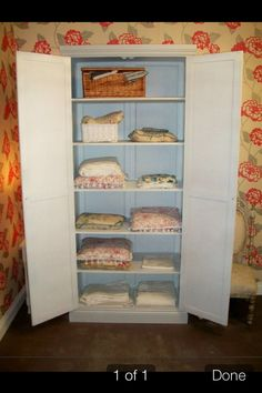Linen cupboard loveliness