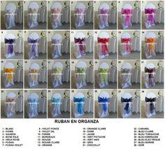 location rubans couleurs