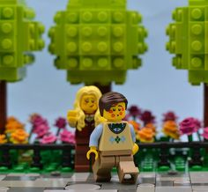 ~ Lego Mocs Holidays ~ Love Is In The Air | by MinifigNick