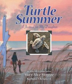 Turtle Summer: A Journal for my Daughter documents the season which NY Times best-selling author, Mary Alice Monroe, and her daughter spent time together on a SC beach as Loggerhead sea turtle team members.