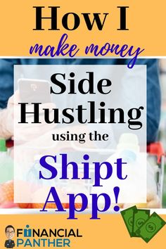 Do you love to grocery shop? Financial Panther breaks down how to use the Shipt App as your next side hustle and you can discover what it's like to really grocery shop for someone else and make money doing it! #sidehustles #shipt #makingmoney