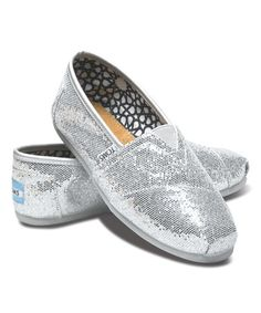 Another great find on #zulily! Silver Glitter Classics #zulilyfinds