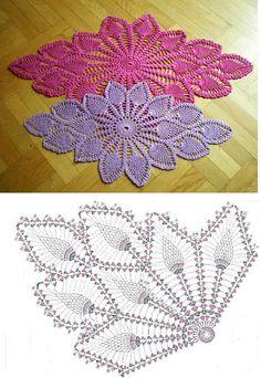 Luty Artes Crochet: para Centro de mesa + Gráficos.