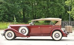 1933 Packard Twelve Five-Passenger Sport Phaeton - (Packard Motor Car Company Detroit, Michigan 1899-1958)