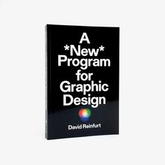 A New Program for Graphic Design – Counter-Print Book Design, Cover Design, Design Design, Free Graphic Design Software, Visual Literacy, New Program, Late 20th Century, Communication Design, Case Study