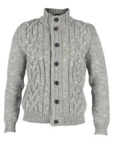 Cardigan Fashion, Blazer Fashion, Sweaters For Women, Men Sweater, Mens Fashion Wear, Mens Jumpers, Knitted Poncho, Sweater Design, Knitting Designs