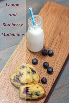 Lemon and Blueberry Madeleines | http://mayakitchenette.com/lemon-and-blueberry-madeleines