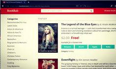 Legend of the Blue Eyes is the featured fantasy book at BookBub today!