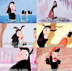 Llama, llama, llama. Who is this big llama? Starting all this drama! It's me…