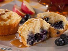 Fruity Pancake Muffins