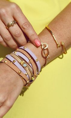 arm candy #girly #accessories <3<3 For tips and advice   on #trends and fashion, Visit   http://www.makeupbymisscee.com/