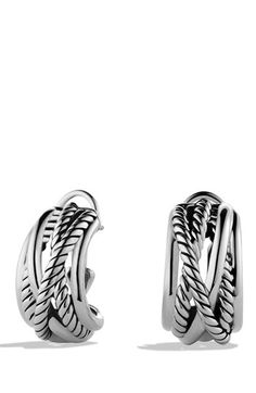 David Yurman 'Crossover' Earrings available at #Nordstrom