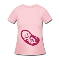 Pregnant T-Shirt.  #Spreadshirt #Cardvibes #Tekenaartje