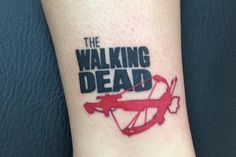 15 Walking Dead Tattoos You Have to See - http://slodive.com/tattoos/17931/